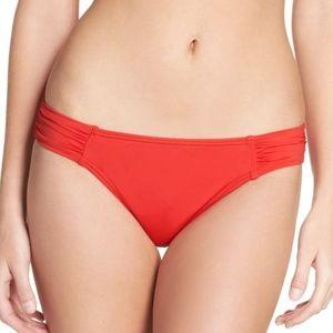 Tommy Bahama RED Pearl Solids Bikini Bottom XL